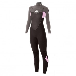 Rip Curl Women's Flash Bomb 4/3 Chest Zip Wetsuit - 2013/2014