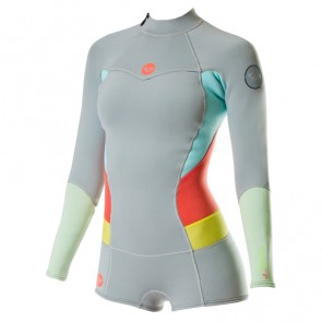 Roxy Women's Syncro 2mm Booty Cut Long Sleeve Spring Wetsuit