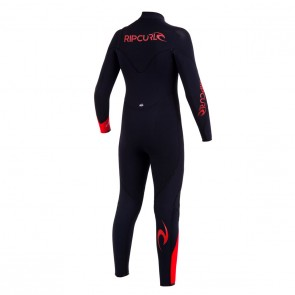 Rip Curl Youth Flash Bomb 4/3 Chest Zip Wetsuit