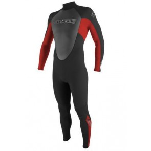 O'Neill Youth Reactor 3/2 Full Wetsuit - Black/Red/Graphite