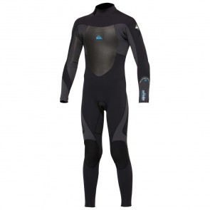 Quiksilver Youth Syncro 5/4/3 Back Zip GBS Wetsuit