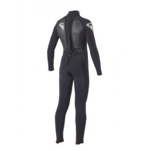 Quiksilver Youth Syncro 4/3 Back Zip GBS Wetsuit