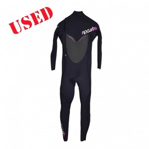 USED Rip Curl Womens Flash Bomb 3/2 CZ Wetsuit - Size 8