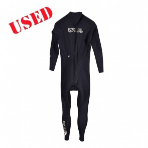 USED Rip Curl Dawn Patrol 3/2 Back Zip Wetsuit - Size M