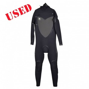 USED Rip Curl Flash Bomb 6/5/4 Hooded CZ Wetsuit - Size XL