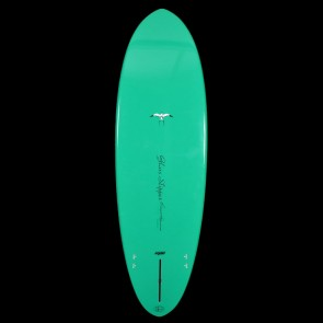 Epoxy Flyer Surfboards - 5'10'' Donald Takayama Glass Slipper - Green