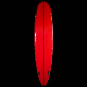 Bing Surfboards - 9'4'' Zeph Indy Noserider - Red/Black Resin