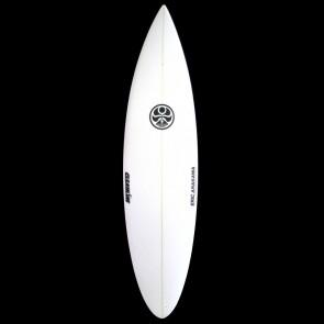 Hawaiian Island Creations - 6'10'' Arakawa Round Pin Surfboard