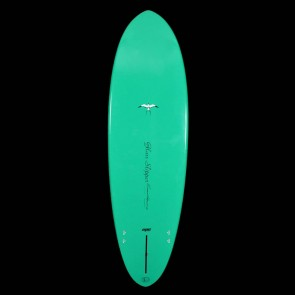 Epoxy Flyer Surfboards - 6'2'' Donald Takayama Glass Slipper - Green
