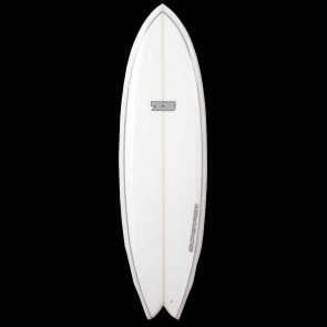 Global Surf Industries - 6'8'' 7S Superfish Surfboard - Grey Two Tone