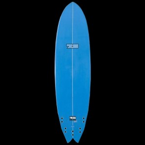 Global Surf Industries - 6'8'' 7S Superfish XL Surfboard - Blue Rails