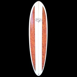 Doyle Surfboards - 7'2'' Doyle Funboard - Wood Stripes