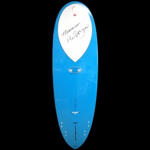 Epoxy Flyer Surfboards - 6'4'' Donald Takayama Scorpion - Grey/Blue