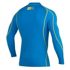 Rip Curl Wetsuits Ripawatu Long Sleeve Rash Guard - Blue