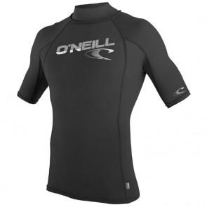 O'Neill Skins S/S Turtleneck - Black