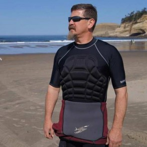 Ribguard S/S Rash Guard - Black