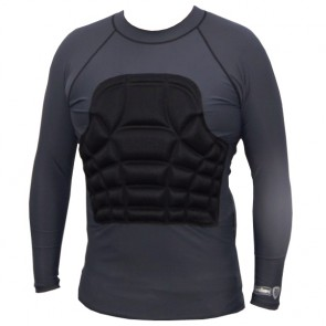 Ribguard L/S Rash Guard - Grey