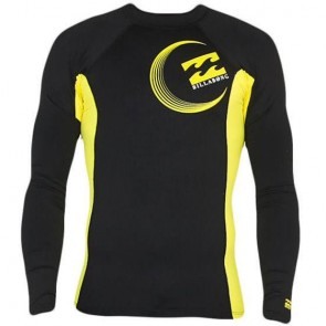 Billabong Chronicle L/S Rash Guard - Black