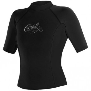 O'Neill Women's Thermo S/S Crew Black