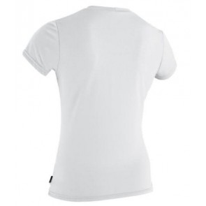 O'Neill Women's Original S/S Rash Tee - White