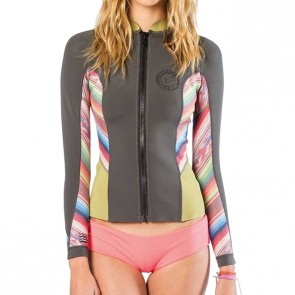Billabong Women's 2mm Peeky Front Zip Jacket - Multi