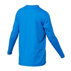 Quiksilver Wetsuits Youth Solid Streak Long Sleeve Rash Guard - Blue