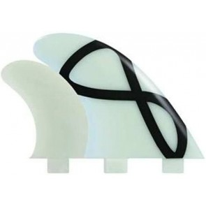 FCS Fins - M7 GF Quad GX - Glass/Black