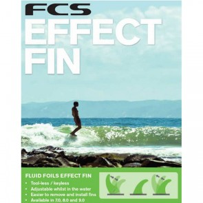 FCS Fins - 8'' Dolphin PG Effect - Fluro Green