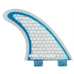 FCS Fins - PC5 - Blue/Clear Hex
