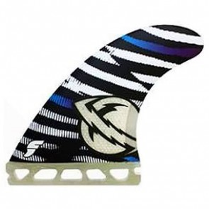 Futures Fins - Lost MB3 - Black/White/Blue Hex