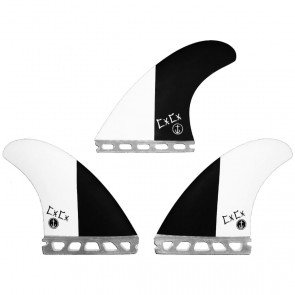 Captain Fin - Chris Christenson 2-Tone - Black/White