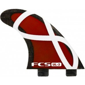 FCS Fins - UL-3 - Red