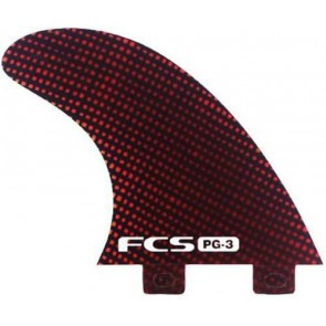 FCS Fins - PG3 Carbon - Red