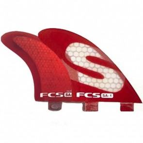 FCS Fins - SA1 PC Quad - Red
