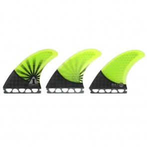 Kinetik Racing Fins - Andy Forever 2.1 Carbon Ultra Future - Neon Green/Black