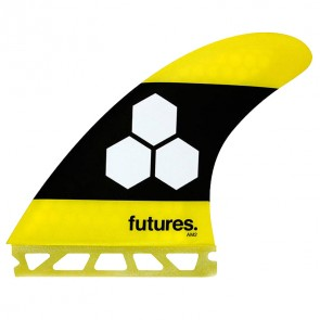 Futures Fins - AM2 - Yellow/Black
