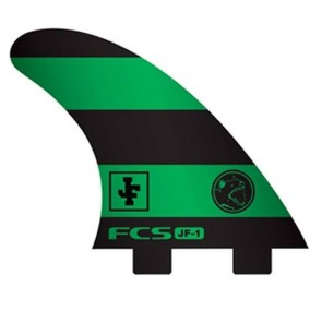 FCS Fins - JF1 PG - Black/Green