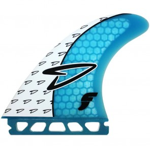 Futures Fins - Roberts V2 - White/Cyan
