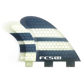 FCS Fins - V2 PC Tri-Quad - Silk