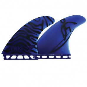 Futures Fins - Twiggy Gun - Black/Blue