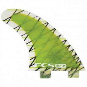 FCS Fins - MF2-PC - Lime Hex