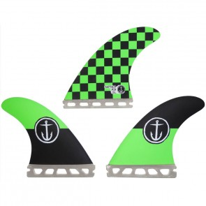 Captain Fin - Team Checkers - Green Checkers