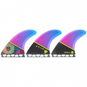 Kinetik Racing Fins - Dusty Payne Ultra Core Future - Blue/Purple Fade