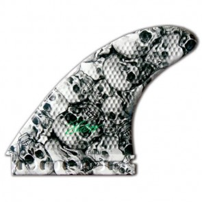 3D Fins - Tri Large 7.0 Full Base - Skull Duggery