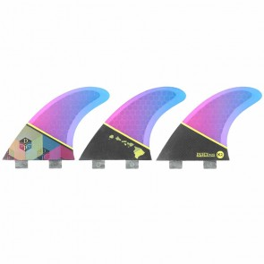 Kinetik Racing Fins - Dusty Payne Ultra Core FCS - Blue/Purple Fade