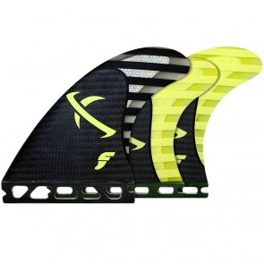 Futures Fins - Lost MB2 Tri-Quad - Black/Yellow
