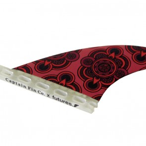 Captain Fin - Tyler Warren Red Kaleidoscope Quad - Red/Black