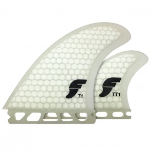 Futures Fins - T1 Twin - Clear