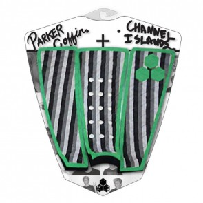 Channel Islands Parker Coffin Traction - Green Monochrome