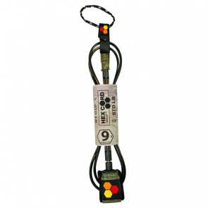 Channel Islands - Hex Cord Longboard Leash - 9' - Army